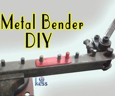 "DIY Metal Bending tool for bending of reinforcing steel, rod, round, flat, square bars.It is very suitable for the making of concrete reinforcement cages.The bender can do bents using the guides of main unitat 7-12-17-22-27-32-37-42-47 cm and with the use of the addition at 5-10-15-20-25-30-35-40-45 cmAlso it is easy and simple to modified, according to your needs.The plans are avaliable at (.skp) format at ""Plan Files Step"" you will need Google SketchUp8 or any newer to ope..."