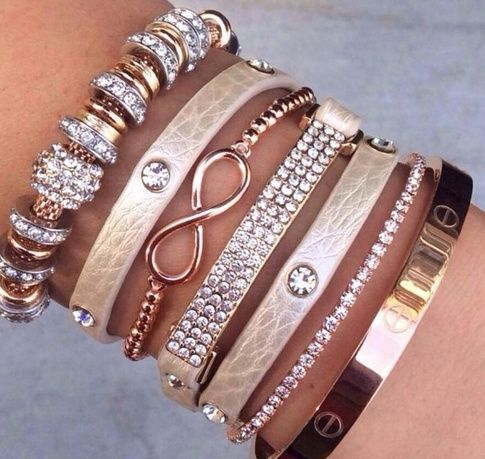 cartier love bracelet <3