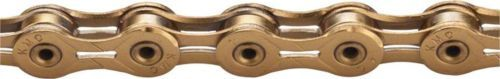 Chains 42320: Kmc X11sl Chain: 11-Speed 116 Links Ti Nitride Gold -> BUY IT NOW ONLY: $62.24 on eBay!