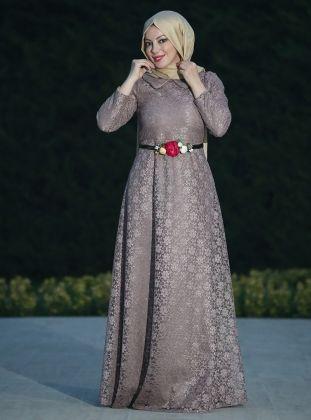Dream Lace Evening Dress - Minc - Esra Ustun
