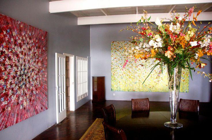 Flowers...and more flowers! #art #artist #flowers http://kirkmechar.com