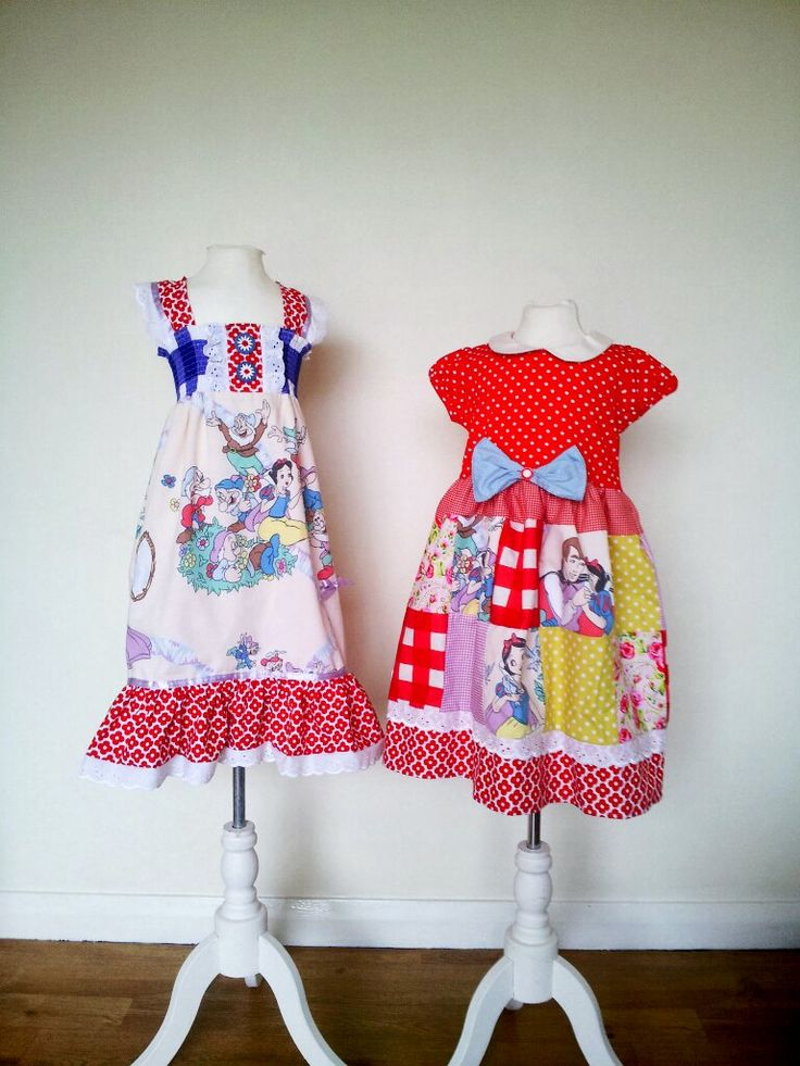 Vintage Snow White dresses