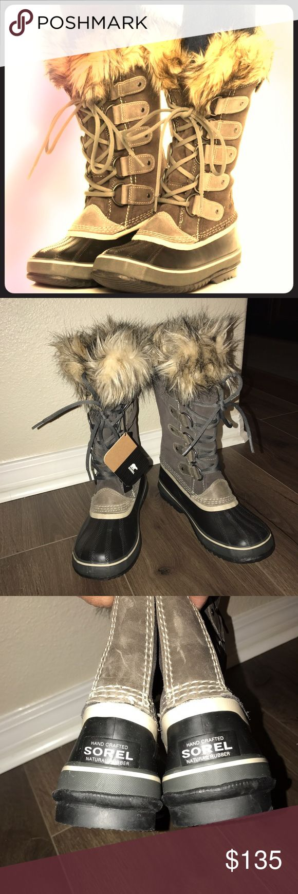 Sorel Joan of Arctic Boots NWT NWT. Never worn. Sorel Joan of Arctic Boots.   Size 8 or Eur 40. NO BOX, Hence the lower sale price. Sorel Shoes Winter & Rain Boots