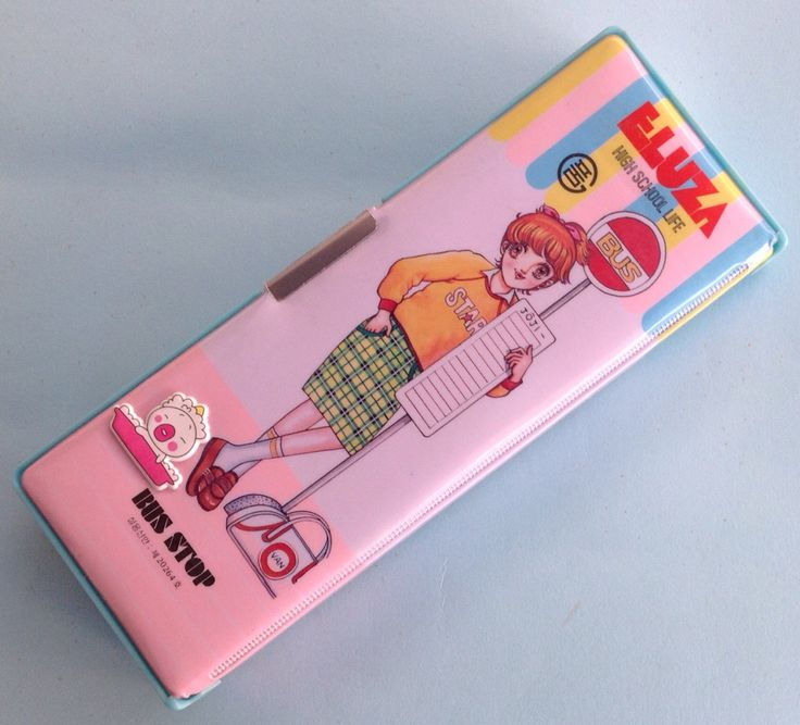 A personal favorite from my Etsy shop https://www.etsy.com/listing/497789327/eluza-pencil-box-80s-manga-stationery