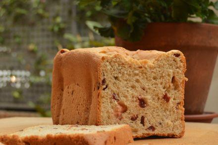 Pan de espelta con arándanos y leche de soja y arroz en panificadora   El clan de los sin trigo
