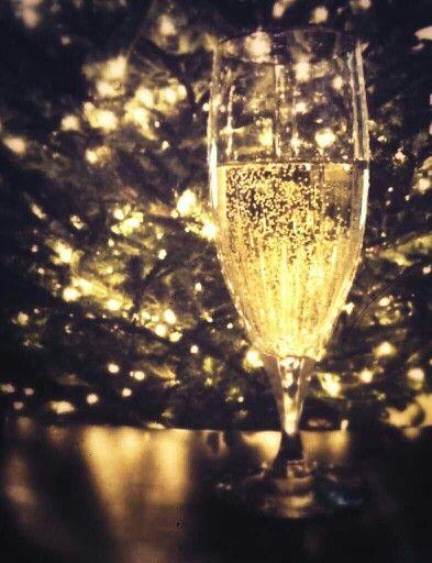 Christmas bubbly