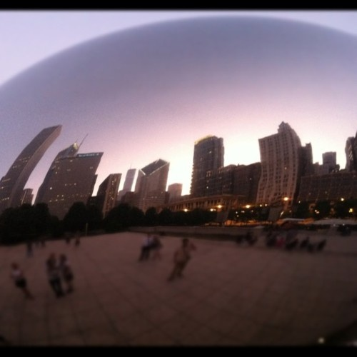 Crossed this one off my bucket list.  I <3 Chicago.