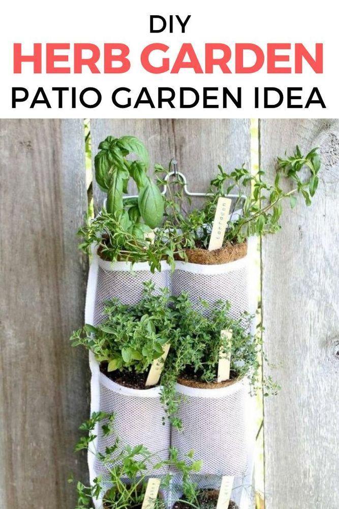 Herb Garden Ideas Indoor Easy Diy With Images Diy Herb Garden