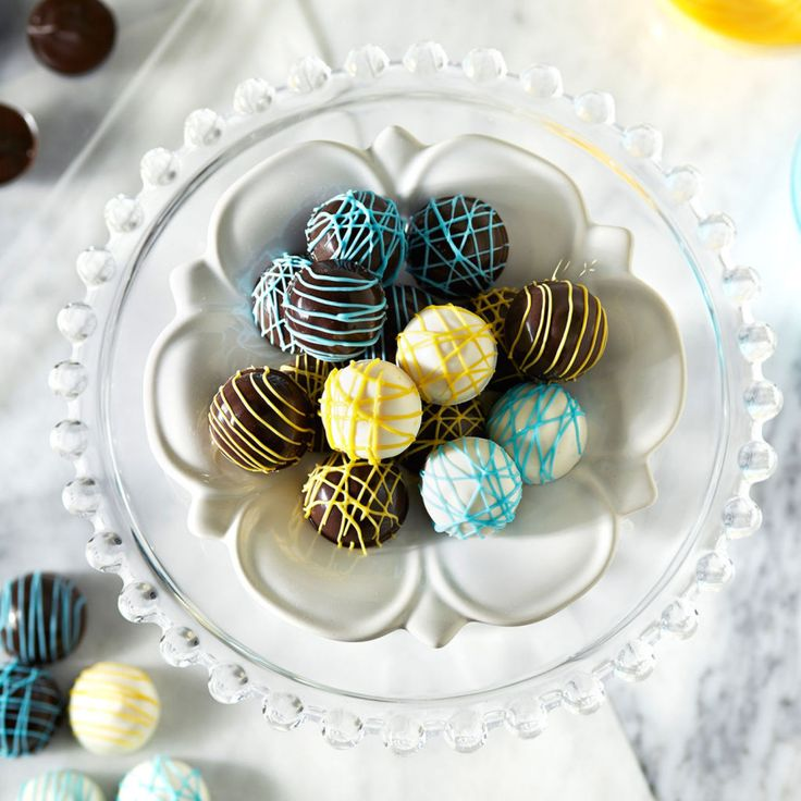 "Candy Melts® ""Art"" Truffles from @michaelsstores."