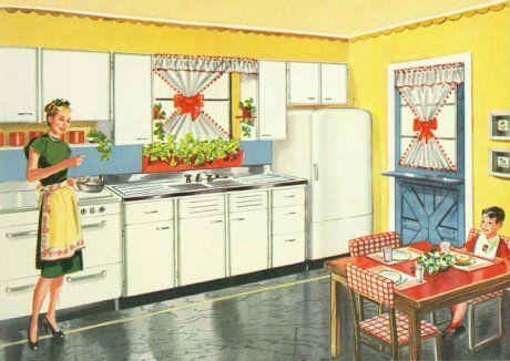 1940's kitchen
