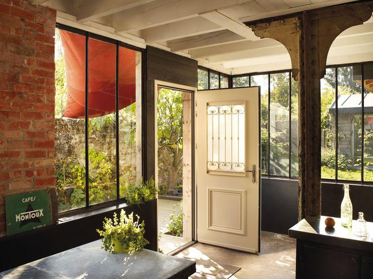 19 best porte du0027entrée images on Pinterest Front doors, Entrees - porte d entree d occasion