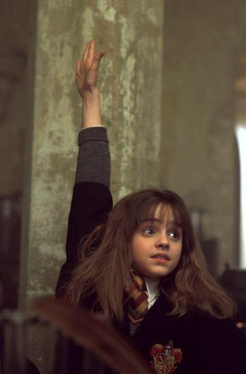But I think Hermione knows...