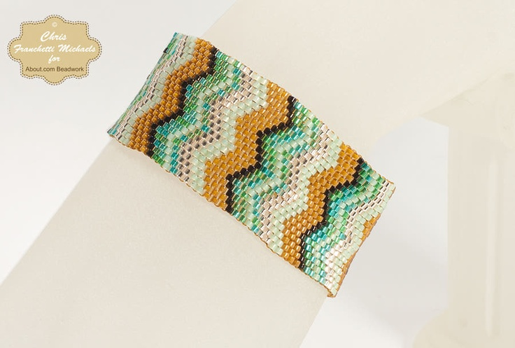 Zig Zag Stitch Knitting Loom : 42 best Beading images on Pinterest Beads, Bead loom patterns and Loom