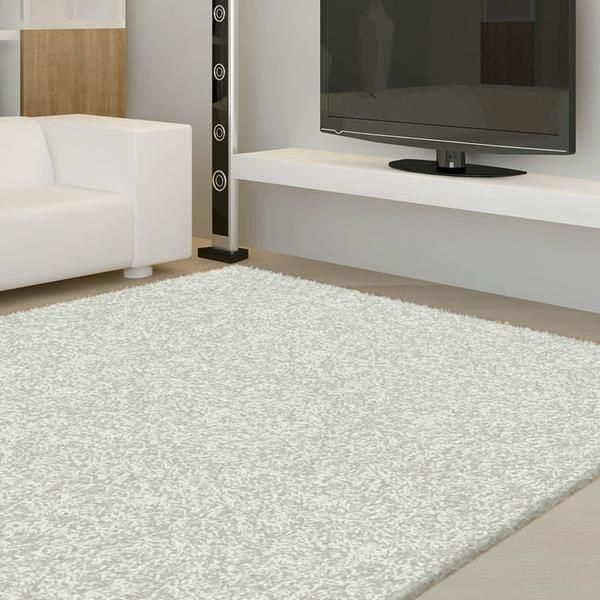 FLUFFY PLAIN COMFORT SHAGGY RUGS