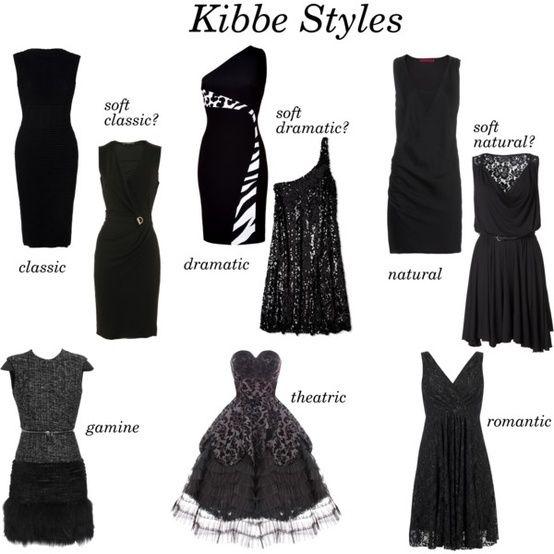 маленькое черное платье для разных типажей
