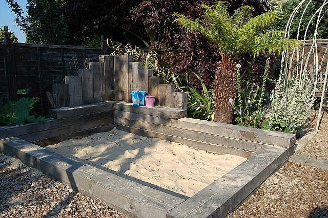 sandpit - timber