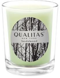 Qualitas Candles Sandalwood Candle/ 6.5 oz.