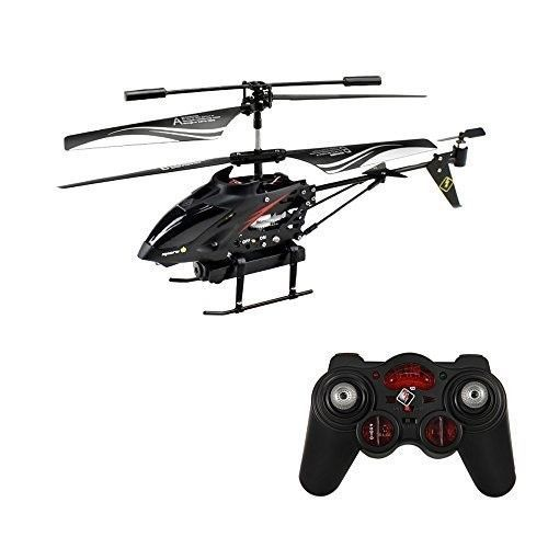 Remote Control Helicopter Camera Vintage Toy Indoor Outdoor Boys Christmas Gift #WLtoys