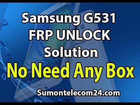 How To Remove Samsung G531f FRP Lock | SumonTelecom24 com