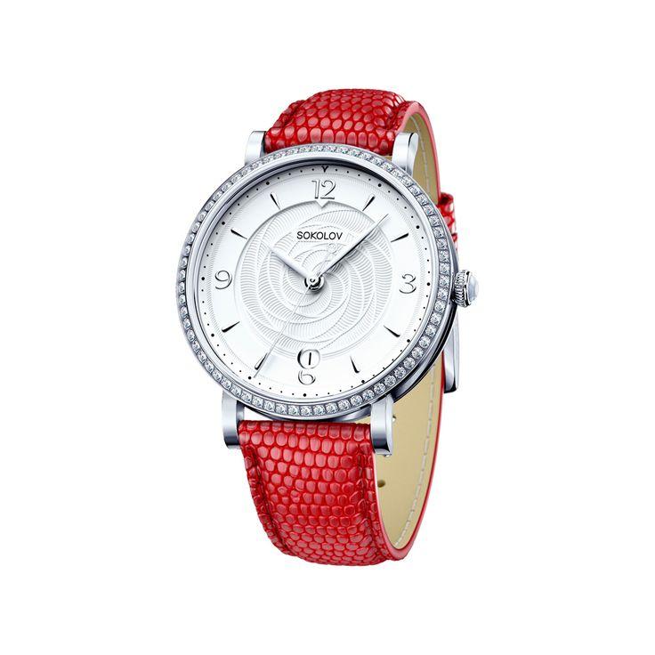 Женские серебряные часы арт. 102.30.00.001.03.03.2