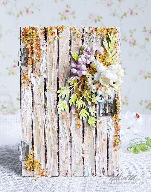 Рукодельные фантазии: Дверь в весну. Мастер-класс. Spring Door. Tutorial.