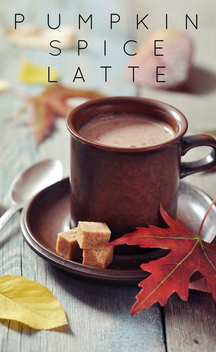 This pumpkin spice latte recipe is better than Starbucks'! Love these pumpkin recipes.
