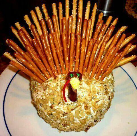 Cheese ball Turkey