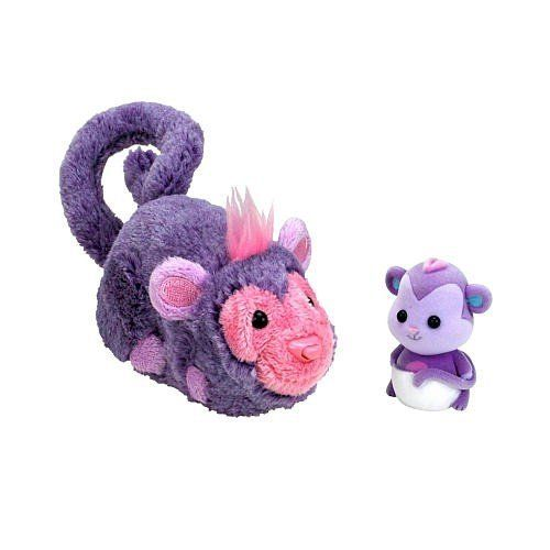 Zhu-Fari Pet & Baby - Ozzy the Monkey by Cepia, LLC. $11.99. Babies have crawled their way into ZhuFari! ZhuFari Deluxe Pets come with their own mini babies! Collect Jack and Wilder the loveable lions, Zulu and Button the exotic giraffes, and Ozzy and Banana the wacky monkeys. In the ZhuFari Deluxe Pets, Zhunatics can have both a new exotic ZhuFari animal and a mini baby. Its a zhutastic special! Collect regal lions Jack and Wilder, nutty, purple monkeys Ozzy and Banan...
