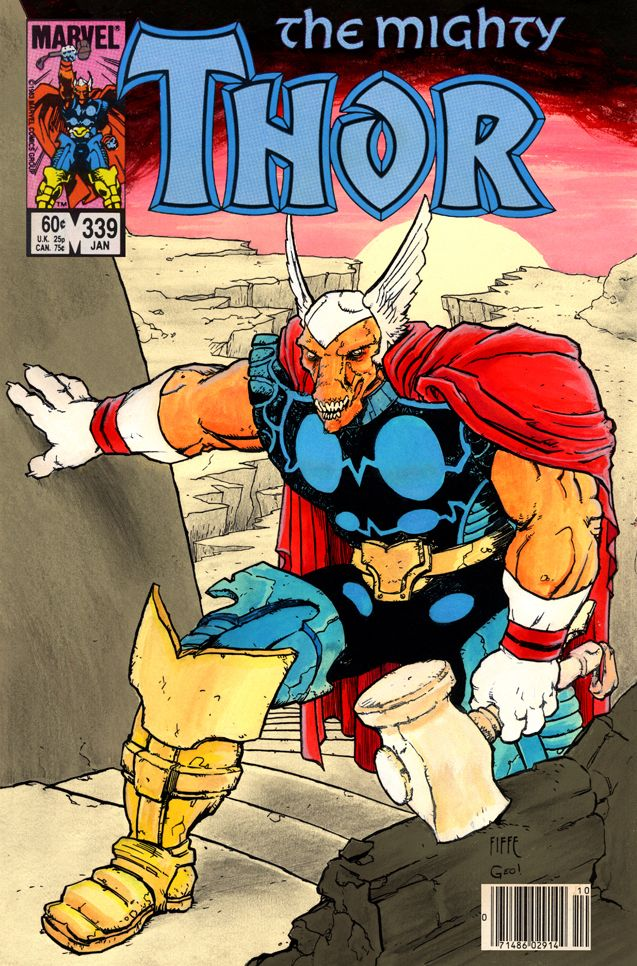 Beta Ray Bill by Michel Fiffe and George O'Connor