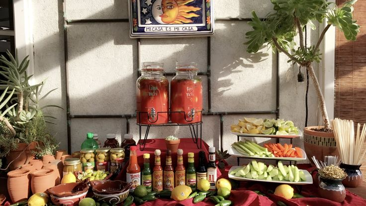 Baby Shower Michelada Bar Created By Jake Cendejas