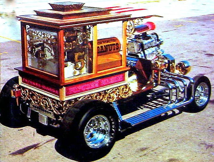 The Popcorn Wagon - - From the pages of Car Craft & Hot Rod Magazines