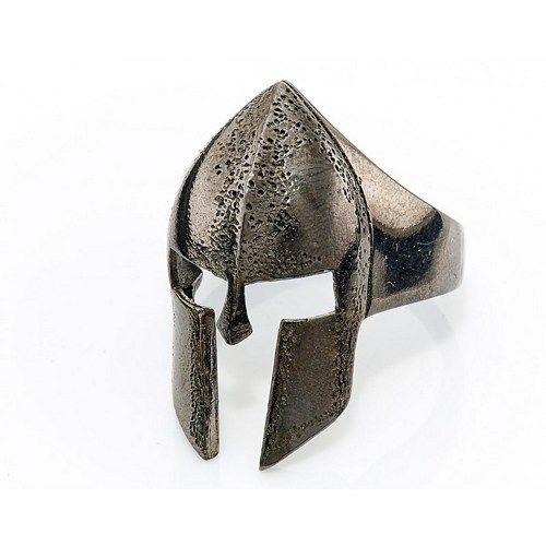 kask yüzük, gümüş kask, maske halkası, Gladiator halka