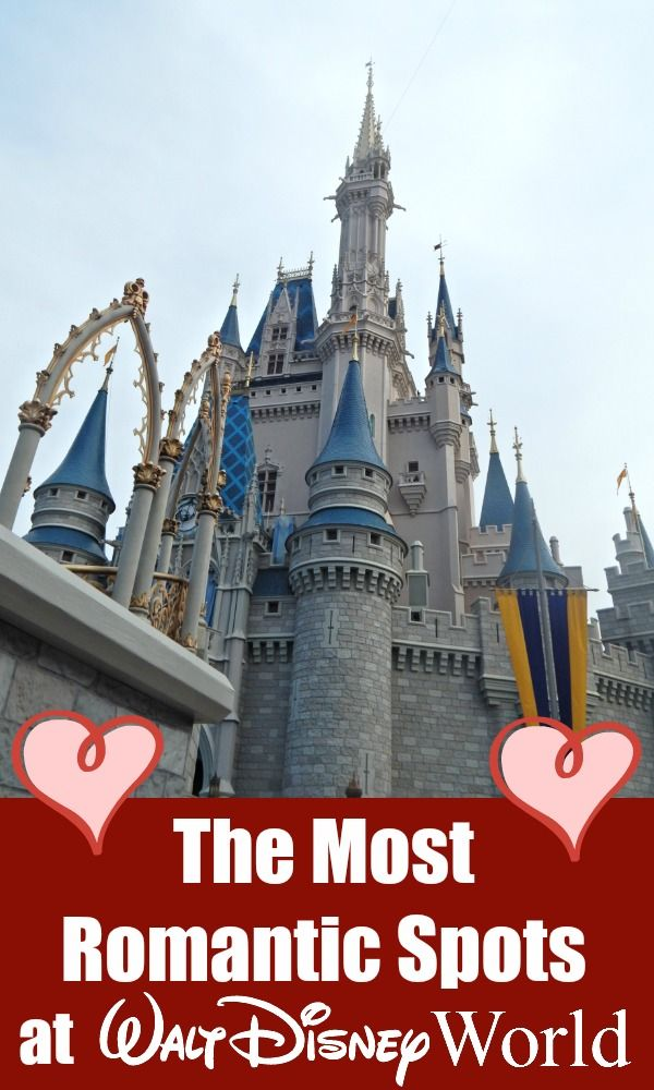 Looking for the most romantic spots at Walt Disney World? From restaurants fit for royalty to attractions filled with Disney movie love, here's our favorites!