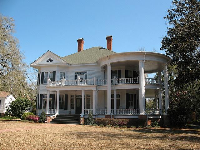 Balfour House Tockwotton Thomasville GA Vintage Southern