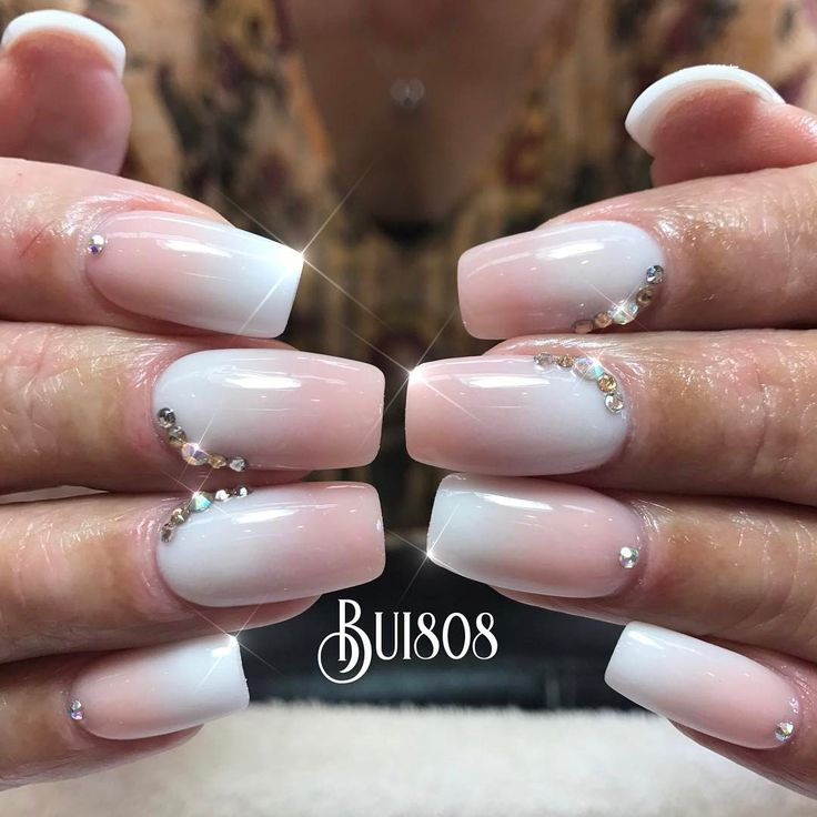 "37 Likes, 1 Comments - Bui808 Nails (@bui808_nails) on Instagram: ""Love the ombre mode #allpowder #gelish #oahu #kapolei #hawaii #nail #nails #nailart #naildesign…"""