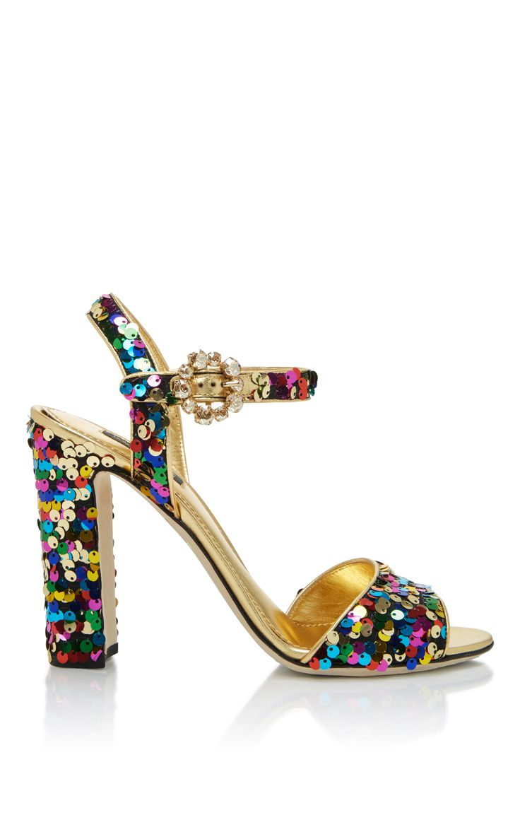 Sandales En Daim Flats Bellucci Printemps / Été Dolce & Gabbana Ic8dHHU