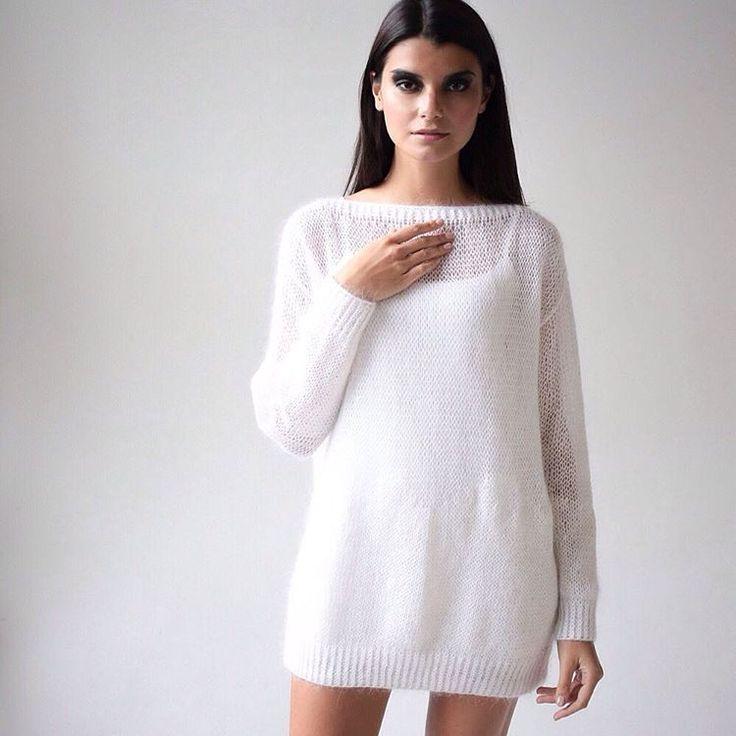 MOHAIR DREAMS // мягкое и невесомое платье-свитер из мохера 100% handmade 100% love ❤️#knitted #handknitted #mohairdress