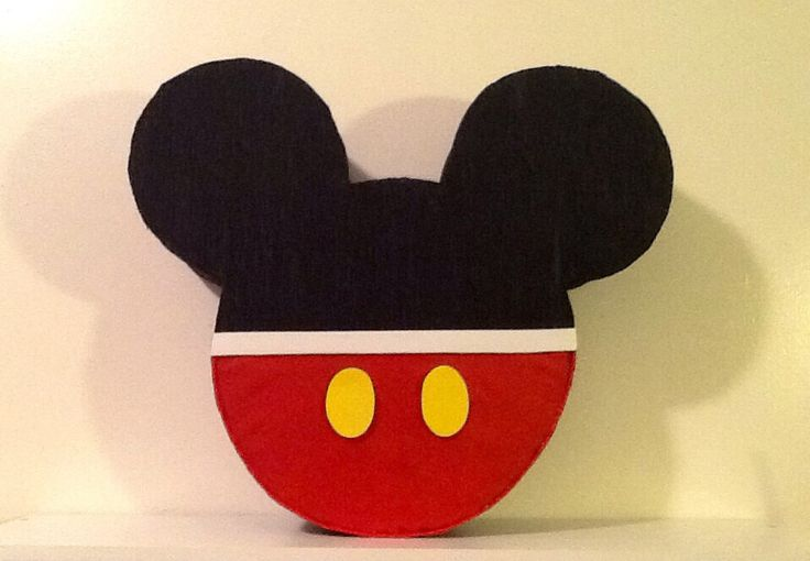 Mickey mouse Pinata. Inspired. Mickey mouse Birthday Party Decoration. 1st Birthday Mickey mouse. Mickey mouse Party theme. by aldimyshop on Etsy https://www.etsy.com/listing/177569536/mickey-mouse-pinata-inspired-mickey