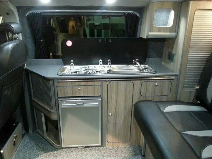 230 best images about van on pinterest for Vw t4 interior designs