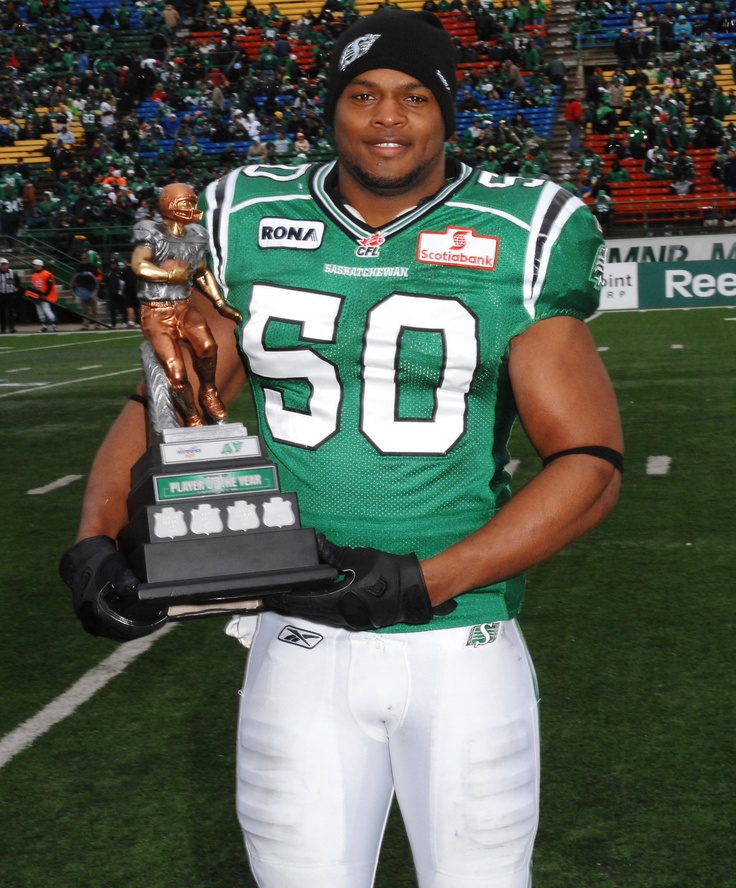 AWARDS | Saskatchewan Roughriders 2011 Wireless Page Player of the year Linebacker Jerrell Freeman