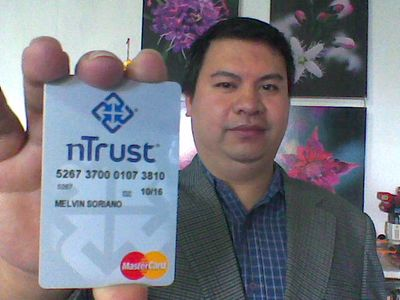 Please vote for this entry in Lovin' My nTrust Card Photo Contest!