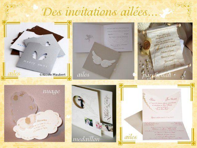 ...  mariage anges  Pinterest  Invitations, Mariage et Recherche