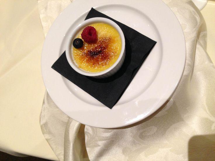 Copetown Woods Wedding Tasting - Creme brulee