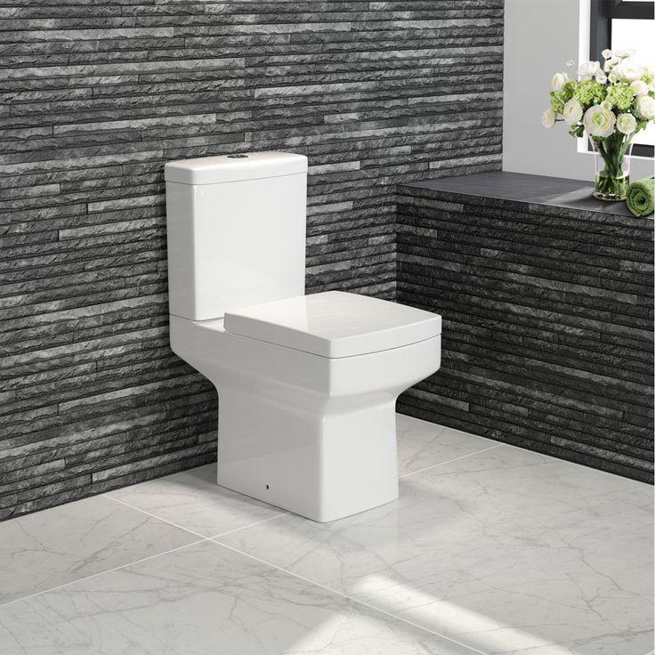Soak - £129 Belfort Close Coupled Toilet & Cistern inc Soft Close Seat