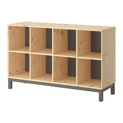 NORNÄS Sideboard basic unit - IKEA | could combine 1 of these with 2 of the Nornas bookcases, then hang shelves over this sideboard for a complete wall storage unit in dining room, $169 this piece. Combo would be $487