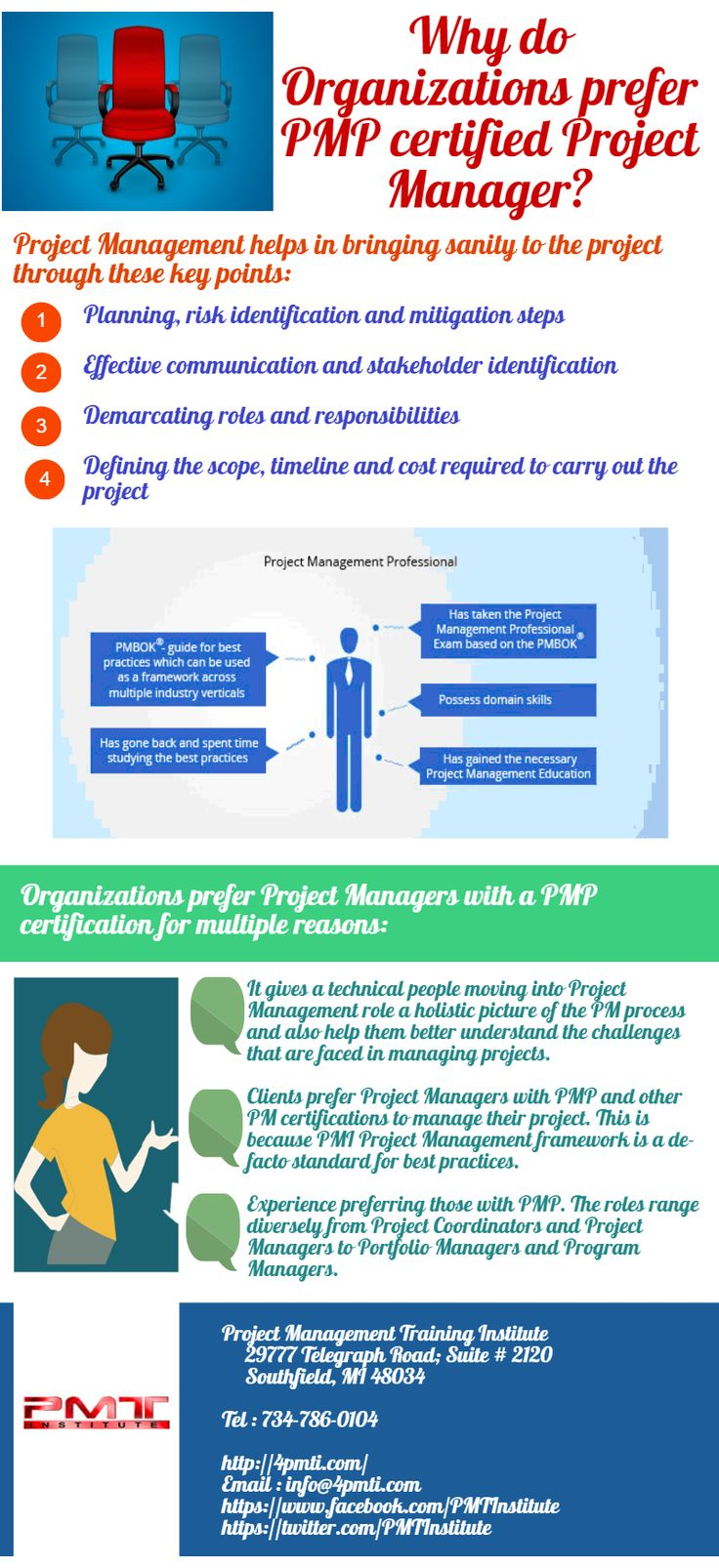 Project Management Training Institute Pmti Pmtinstitute On Pinterest