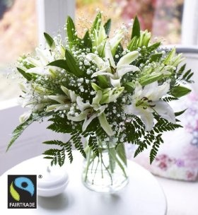 Marks and Spencer Fairtrade Lily Bouquet