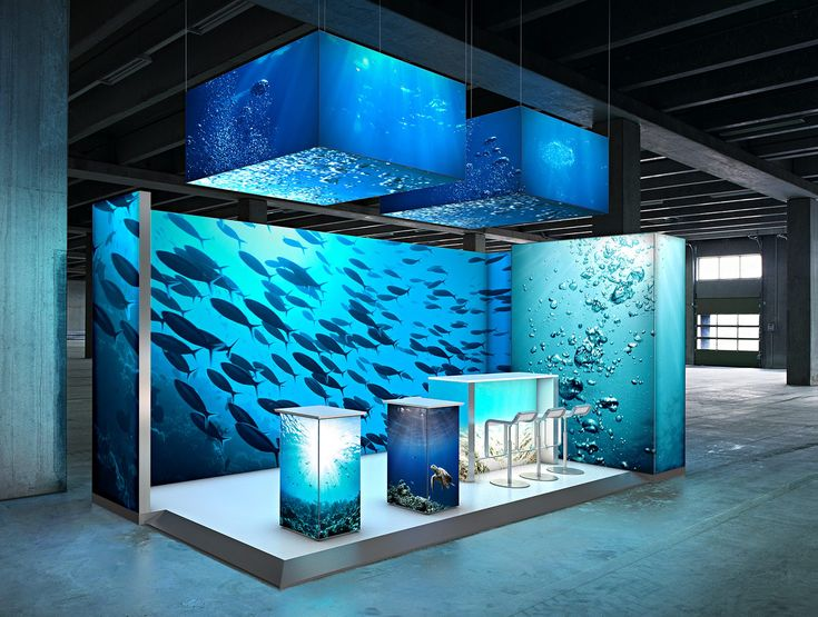 Exhibition Booth Lighting : Best custom backlit trade show exhibit designs images