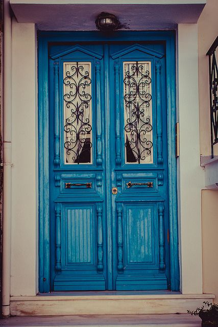 Door in #Galaxidi #Greece