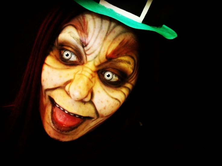 Evil Leprechaun Face Tutorial (NYX Face Awards 2014 entry) please help by giving it a thumbs up to count as vote #NYXFaceAwards2014 #NYXFaceAwards